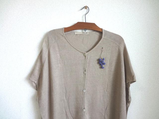 画像3: シルクの実 ブローチ