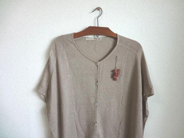 画像4: シルクの実 ブローチ